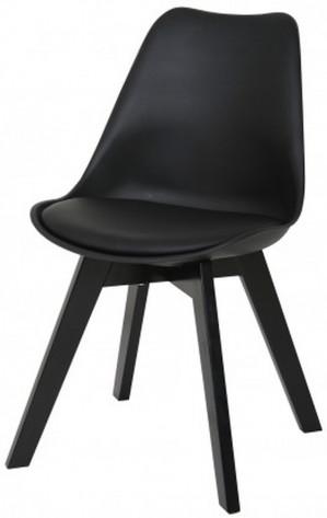 Butik Living Consilium Valido Uni - Stoel - Zwart - Set van 2 voor €95,12