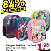 Diverse Mini rugzakken voor de kinderen voor €1,98