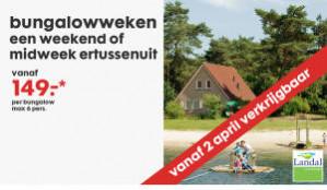 Landal bungalowweken vanaf €149