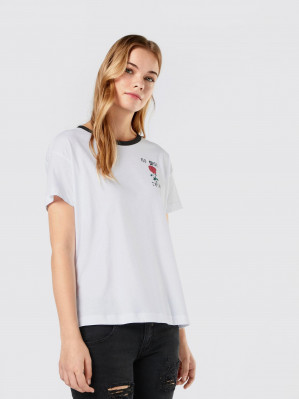 Noisy may Shirt 'NMCommand' voor €2,90