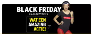 Vooraankondiging Black Friday aanbiedingen + gratis verzending bij Kruidvat