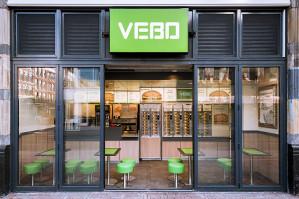 Bij VEBO Amsterdam Gratis Vegaburger