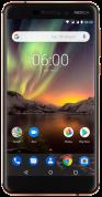 Nokia 6.1 Dual Sim Zwart Koper voor €219