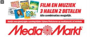 Diverse Film en Muziek 3 halen is 2 betalen