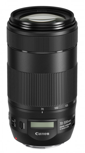 Canon EF 70-300 F4.0-5.6 IS USM II voor €455 dmv cashback