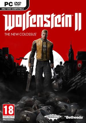 Wolfenstein II The New Colossus - Code in a Box - Windows voor €12,50