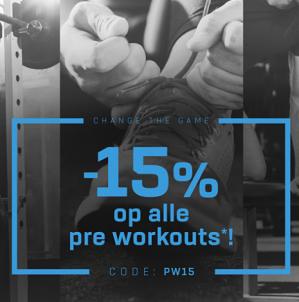 15% korting op alles bij Bodylab