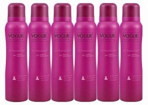 Foutje?! Vogue Extravagant Parfum Deodorant Spray 6 stuks voor €1,85