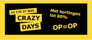 Ikea Amsterdam kortingen tot -80% op de crazy days