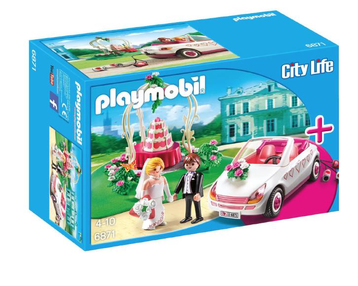 Playmobil starterset Trouwpartij - 6871 voor €12,50