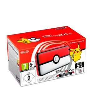 New Nintendo 2DS XL Console Pokeball Edition voor €111