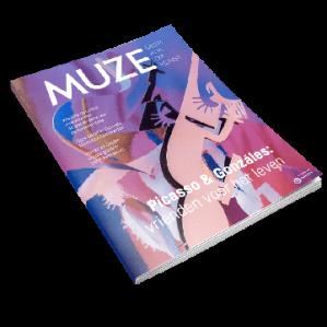 Proefexemplaar MUZE kunstmagazine Gratis