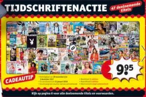 Tijdschriften abonnement van 5 of 11 nummers voor €9,95
