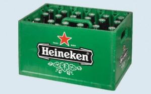 Heineken bier krat 24 flesjes voor €8,99