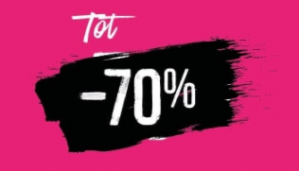 Hunkemöller sale tot 70% korting