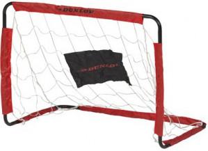 Dunlop Set voetbaldoelen 78 x 56 x 45 cm zwart/rood voor €6,95