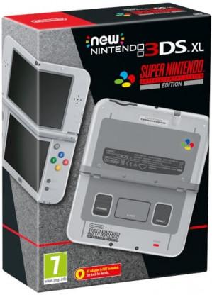 NEW Nintendo 3DS XL SNES Edition voor €99,99