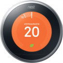 Nest Learning Thermostat slimme thermostaat, zilver voor €169,95