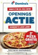 Gratis pizza bij Domino's Pizza in Rotterdam