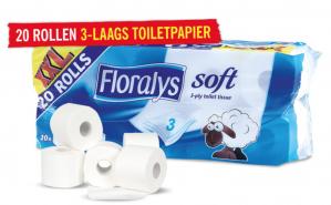 20 rollen toiletpapier voor €4,99