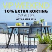 Vip Weekend met 10% korting op alles