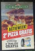 Tweede pizza gratis