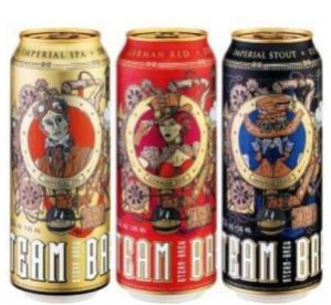 Speciaalbier van Steam Brew voor €0,55