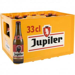 Jupiler Pils per krat à 24 flessen voor €7,25