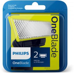 Philips OneBlade QP220/50 - Vervangmesjes - 2 stuks voor €14,95