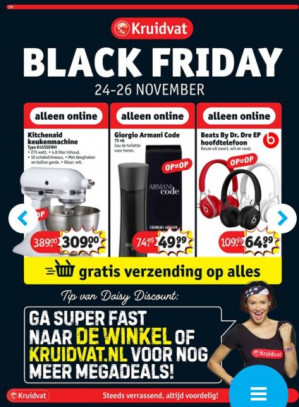 Kruidvat Black Friday deals