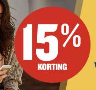 15% korting op 8 enkele reizen en één gratis ingecheckte koffer