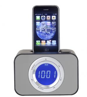 Ipod wekkerradio zwart voor €15