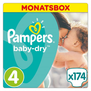 Pampers maandbox luiers voor €32,85