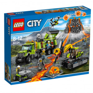 LEGO City 60124 Vulkaan Onderzoeksbasis voor €79,99