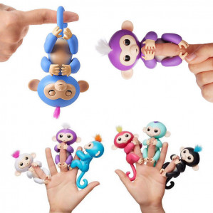 6 Fingerlings aapjes voor € 74,95