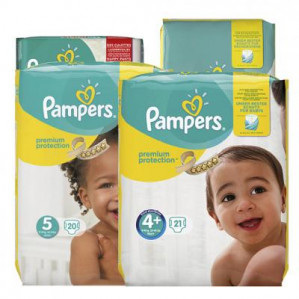 Pampers New Baby, Premium Protection of Pants 50% korting