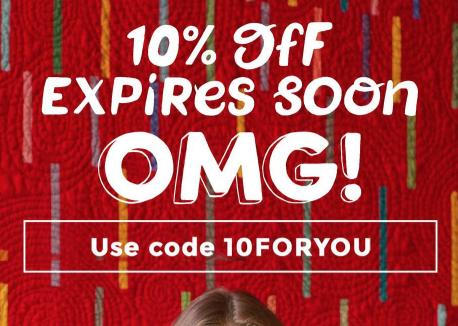 10% korting op je bestelling