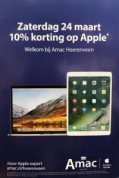 Apple producten en accessoires 10% korting