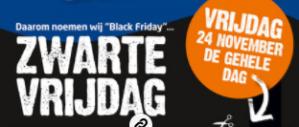 Black Friday bij Formido met 25% korting