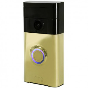 Ring Video Doorbell Polished Brass voor €129