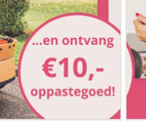 Kortingscode voor €10 korting op je eerste boeking