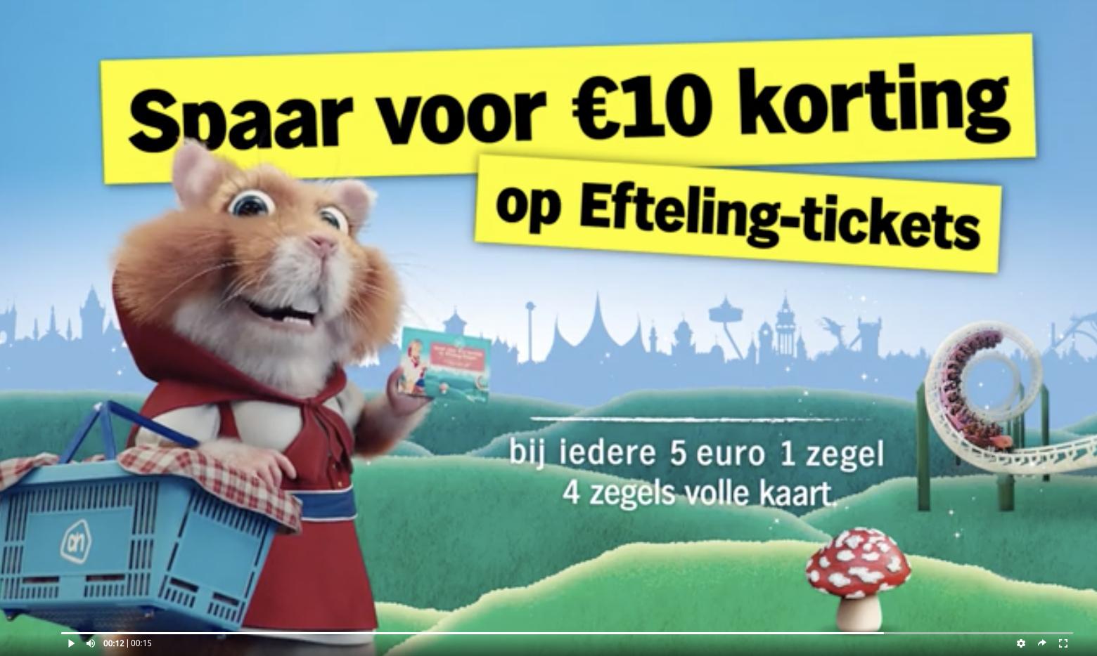 Albert Heijn Efteling Spaarkaart.10 Euro Korting Op Je Tickets Dmv De Albert Heijn Spaaractie