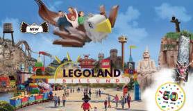 Familie dagticket Legoland voor 3 personen voor €74