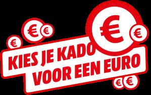 Bij aankoop van geselecteerde artikelen een cadeau voor €1