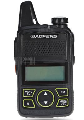 BAOFENG BF - T1 Walkie Talkie - BLACK voor €13,52
