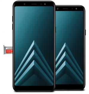 Bij aankoop van een Galaxy A8, A6+ of A6 Gratis SDkaart