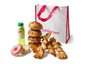 Bakker Bart tas incl broodjes en dergelijke van €10 voor €5