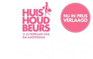 Avond tickets Huishoudbeurs -22/23 februari- voor €3,95 p.p.