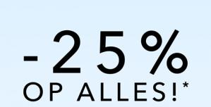 Douglas sale met 25% korting
