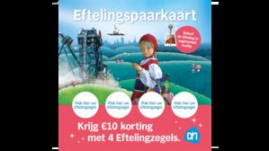 €10 korting op Eftelingkaartje dmv spaarzegels